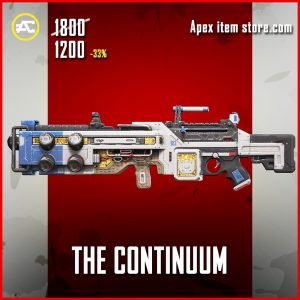 The Continuum Spitfire legendary apex legends skin
