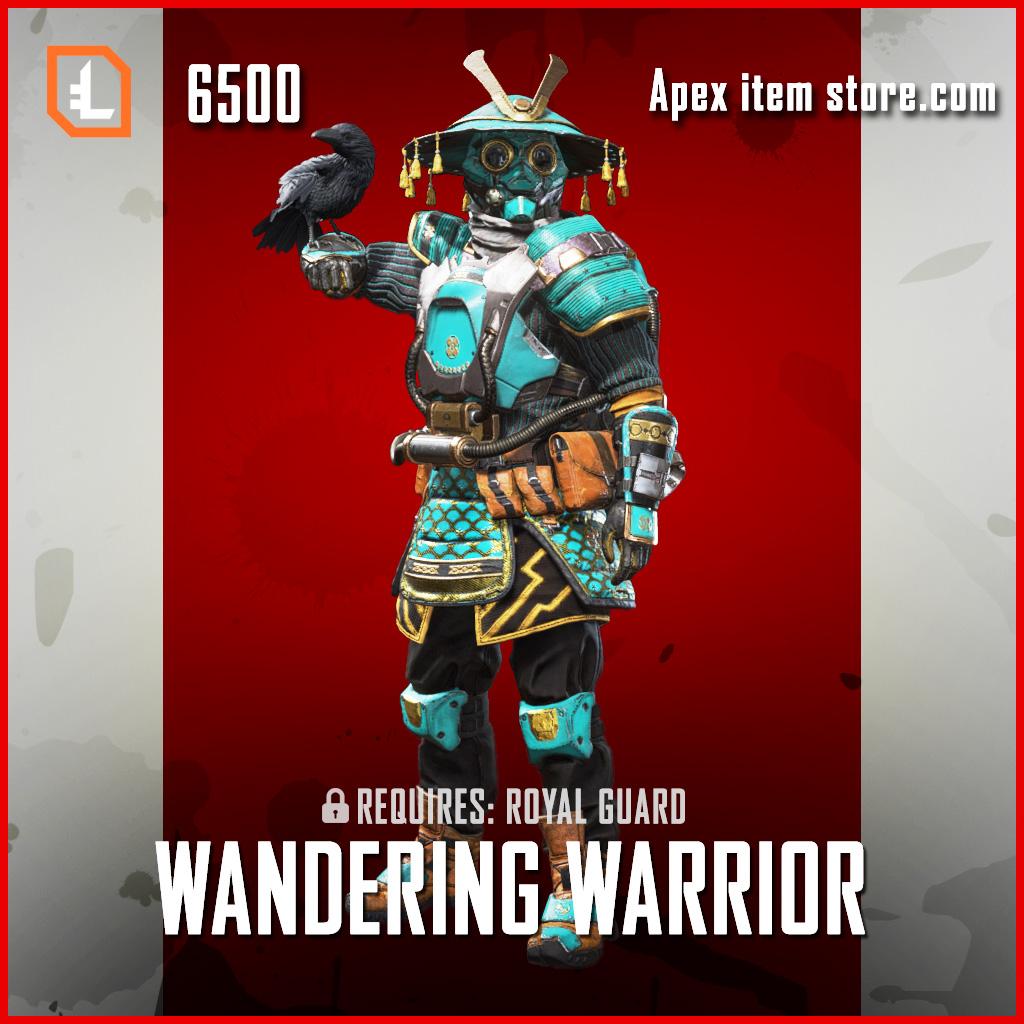Wandering Warrior bloodhound skin legendary apex legends item
