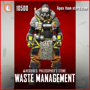 Waste Management exclusive caustic skin legendary apex legends item
