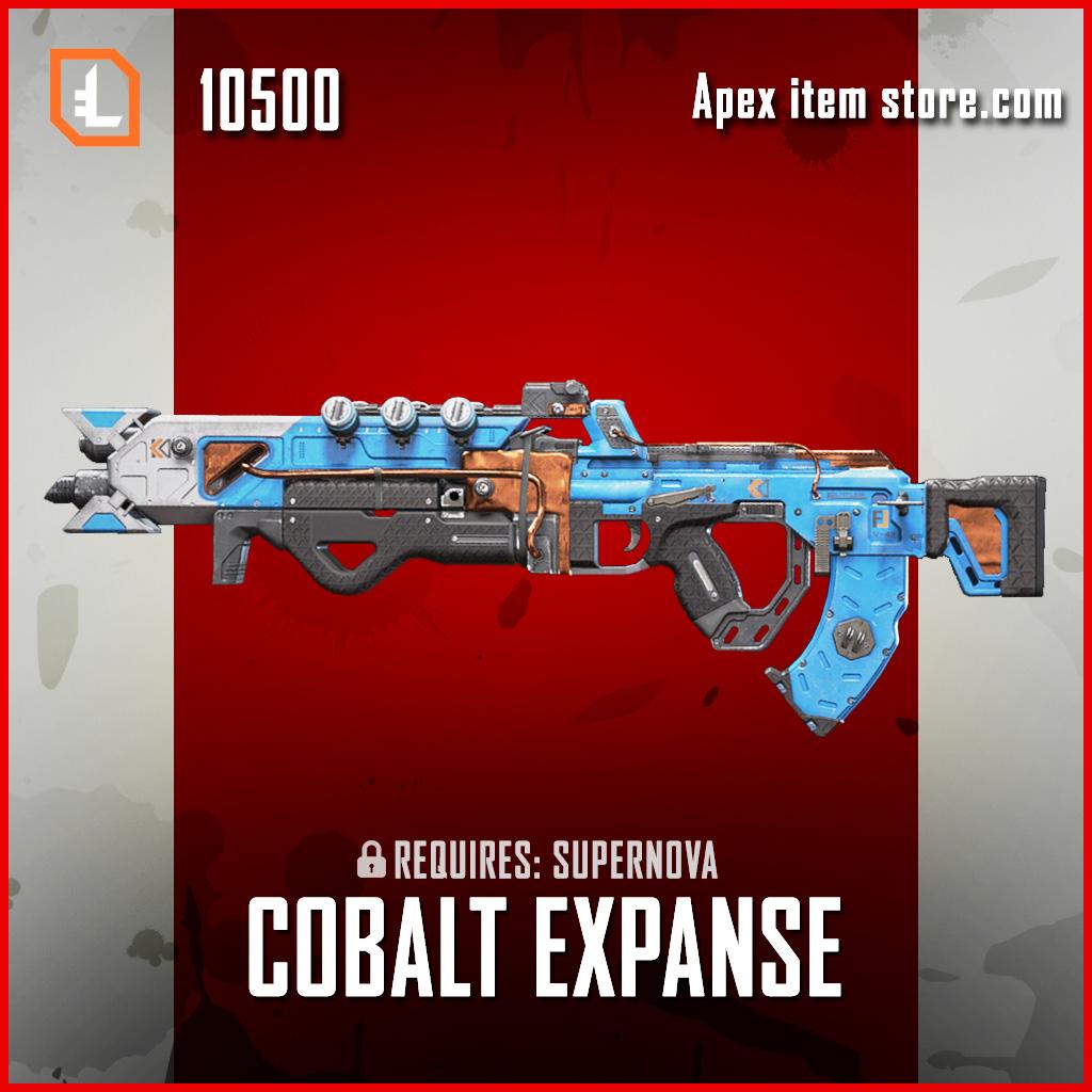 Cobalt Expanse flatline skin legendary apex legends item