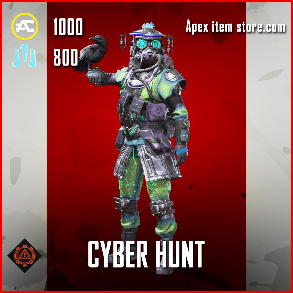 Cyber Hunt Bloodhound skin legendary apex legends item