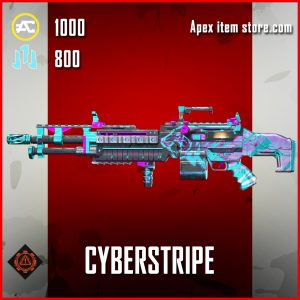 Cyberstripe Spitfire skin epic apex legends item