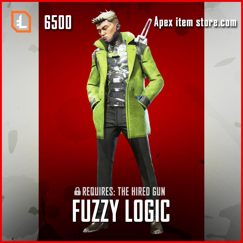 Fuzzy Logic Crypto exclusive skin legendary apex legends item