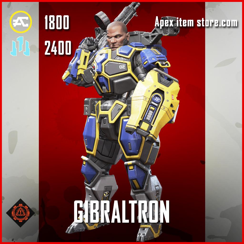 Gibraltron gibraltar skin legendary apex legends item