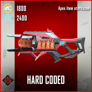Hard Coded charge rifle skin legendary apex legends item