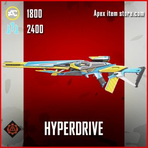 Hyperdrive triple take skin legendary apex legends item