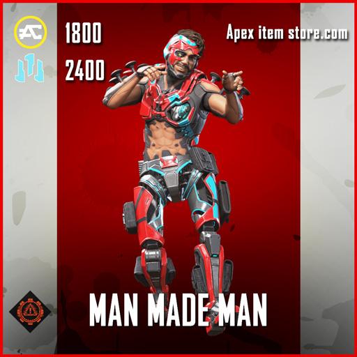 Man Made Man mriage skin legendary apex legends item