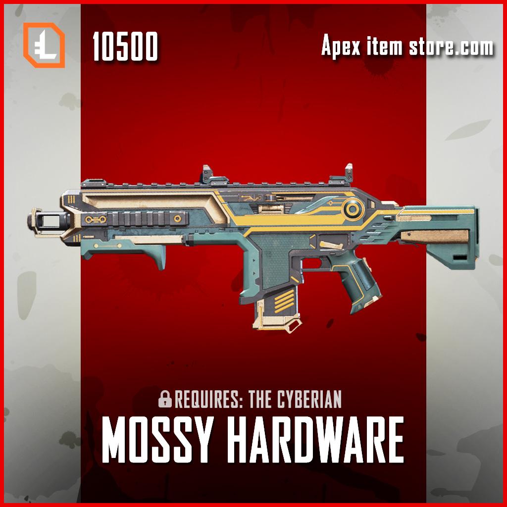 Mossy Hardware Hemlok exclusive legendary apex legends skin
