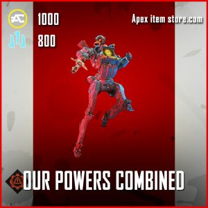 Our Powers combined pathfinder banner pose epic apex legends item