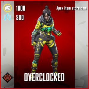 Overclocked wraith skin legendary apex legends item