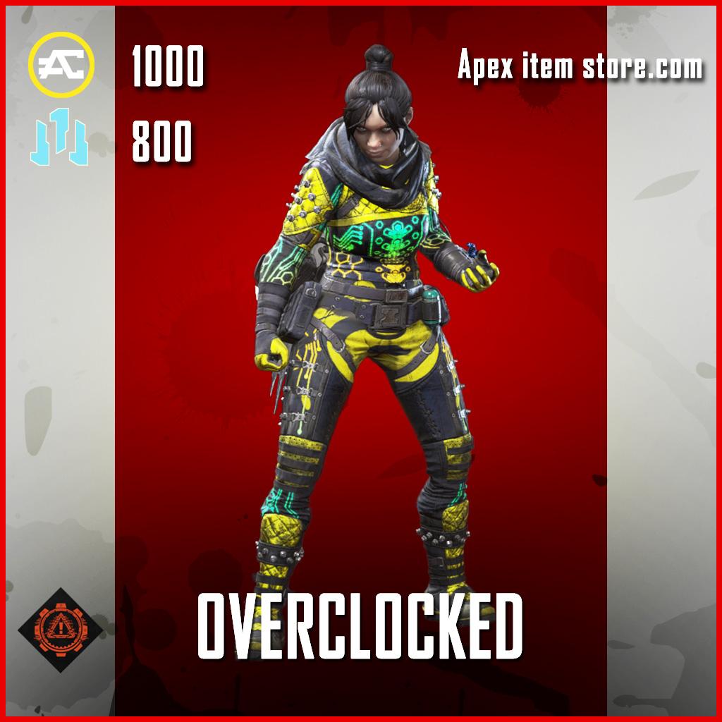 Overclocked wraith skin epic apex legends item