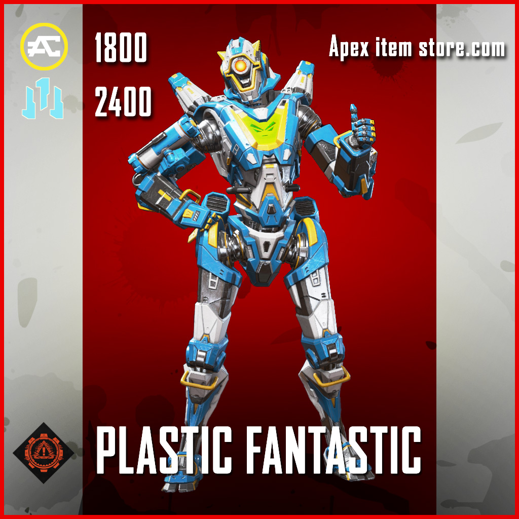 Plastic Fantastic Pathfinder skin legendary apex legends item