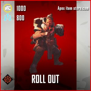 Roll Out Gibraltar Banner Pose epic apex legends item