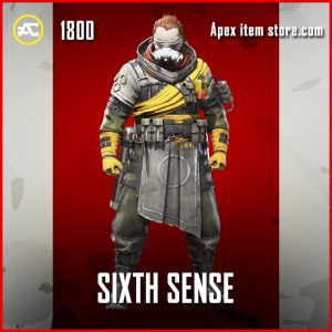 Sixth Sense Caustic legendary apex legends skin