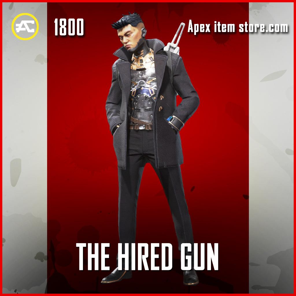 The Hired Gun Crypto skin legendary apex legends item