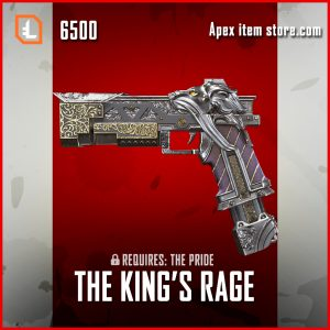The King's Rage RE-45 exclusive apex legends skin