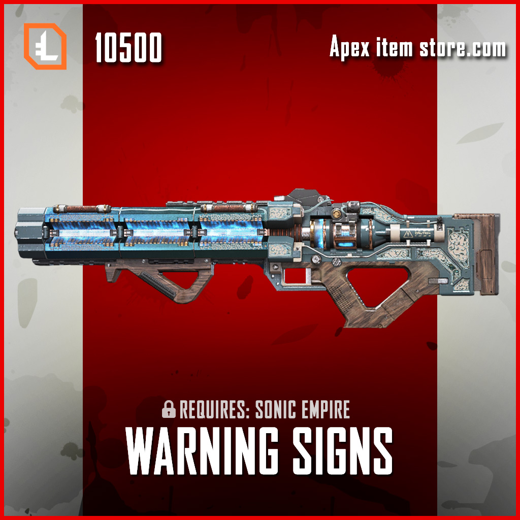 Warning Signs havoc legendary apex legends skin