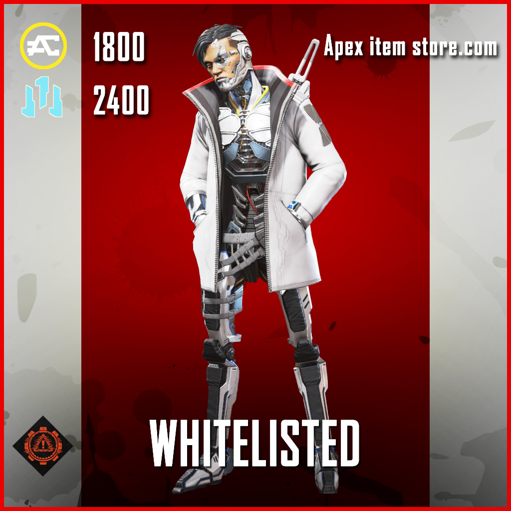 Whitelisted crypto skin legendary apex legends item