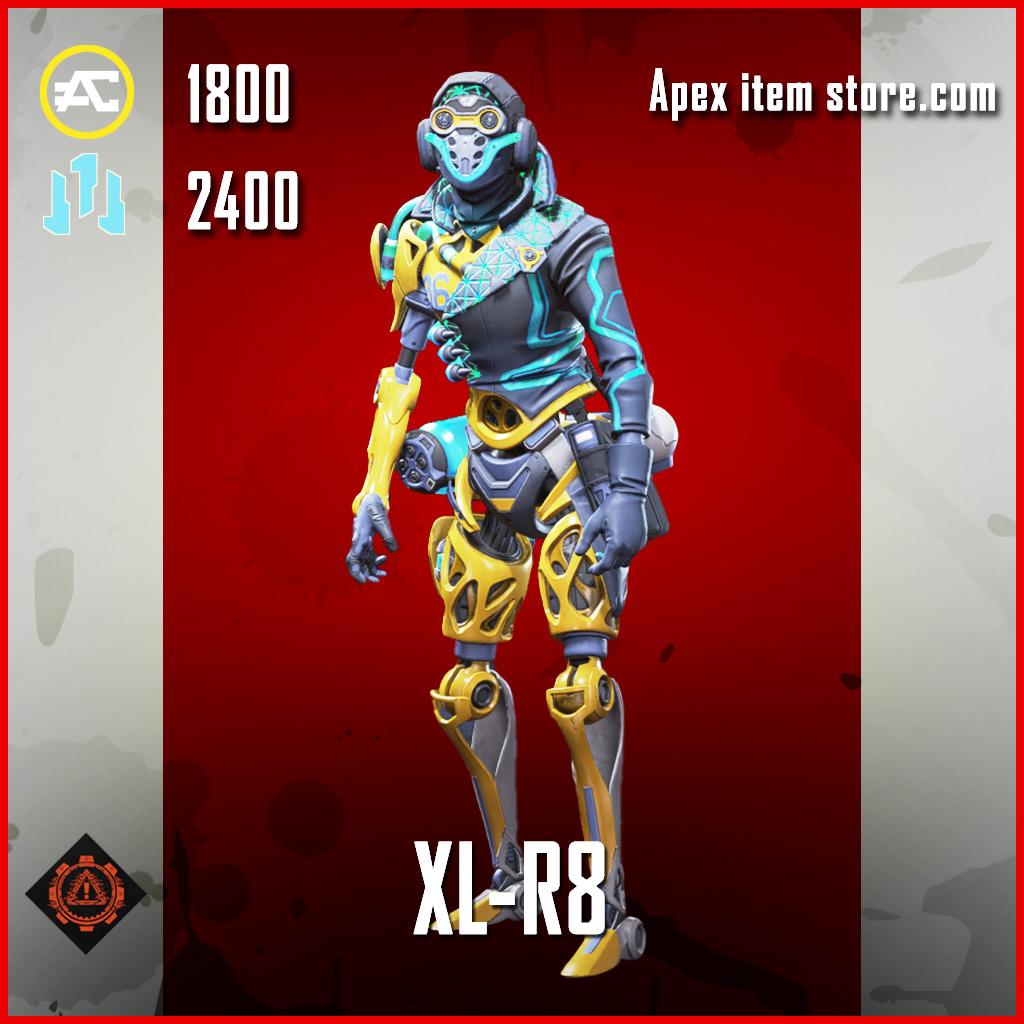 XL-R8 octane skin legendary apex legends item