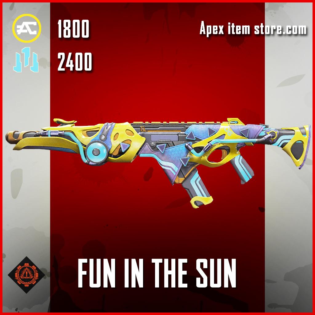 Fun in the Sun R-301 skin legendary apex legends item