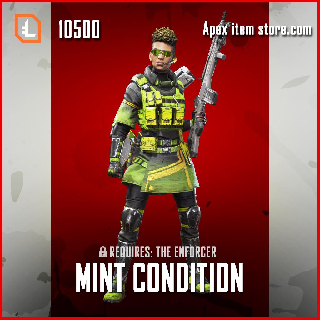 Mint Condition bangalore exclusive skin legendary apex legends item