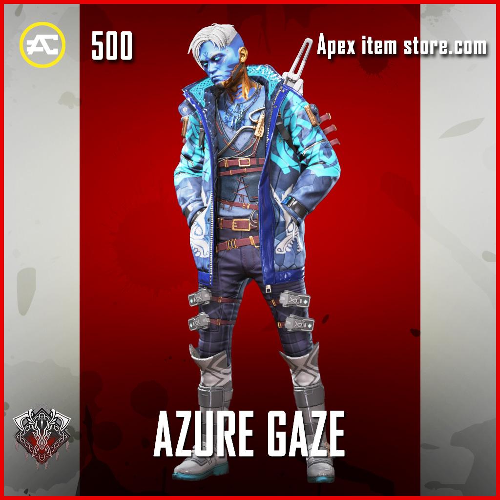 Azure Gaze crypto rare skin apex legends