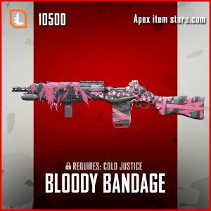 bloody bandage G7 Scout skin exclusive apex legends skin