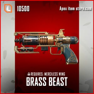 Brass Beast Wingman legendary Merciless Wing exclusive apex legends skin
