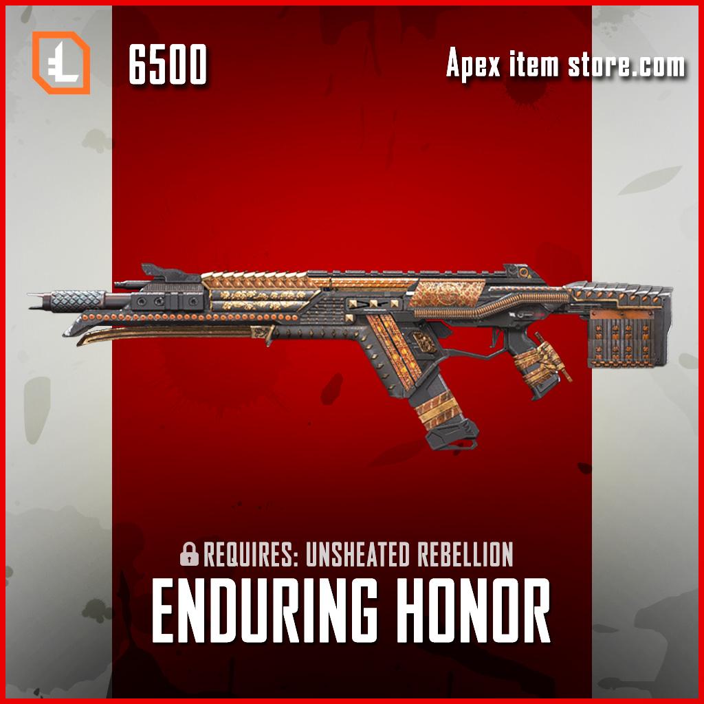 Enduring Honor R-301 exclusive apex legends skin