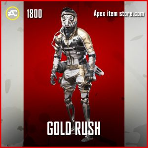 Gold Rush octane legendary apex legends skin
