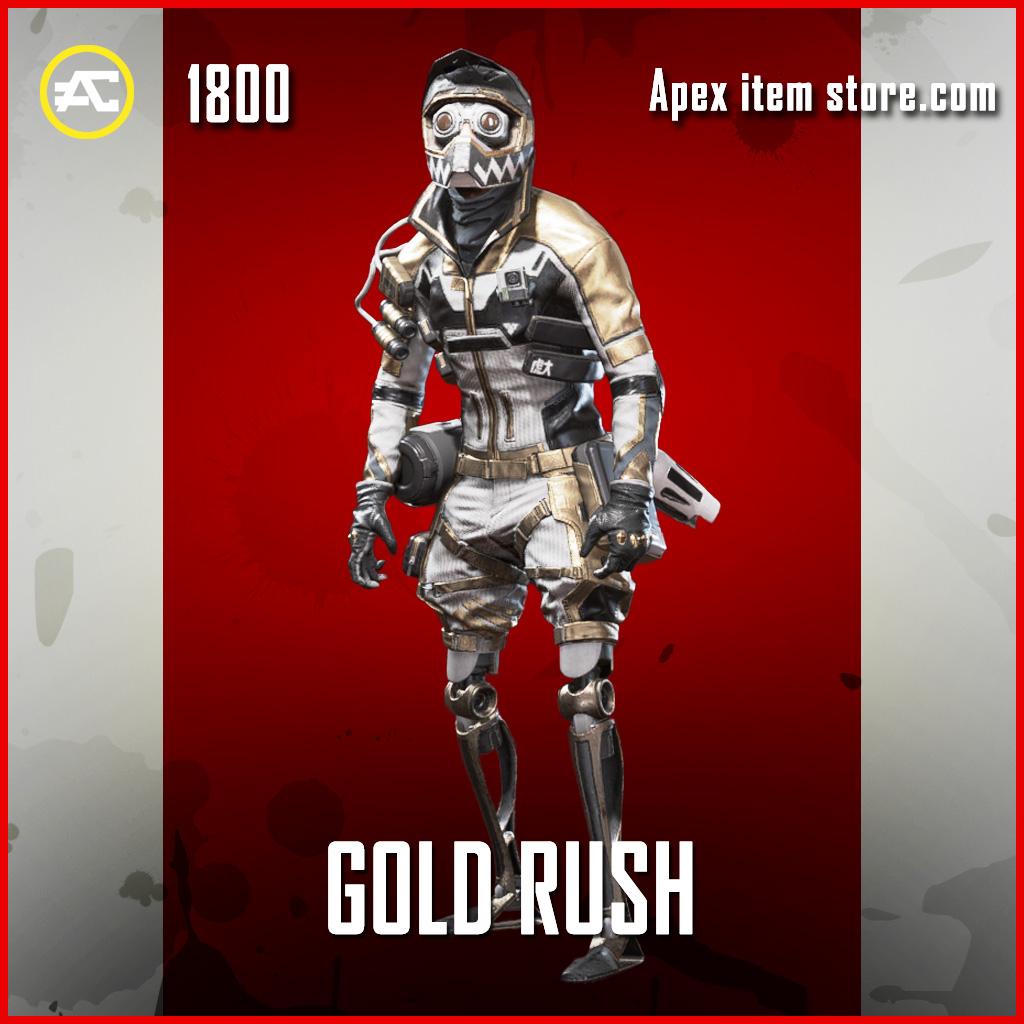 Gold Rush octane legendary apex legends skin