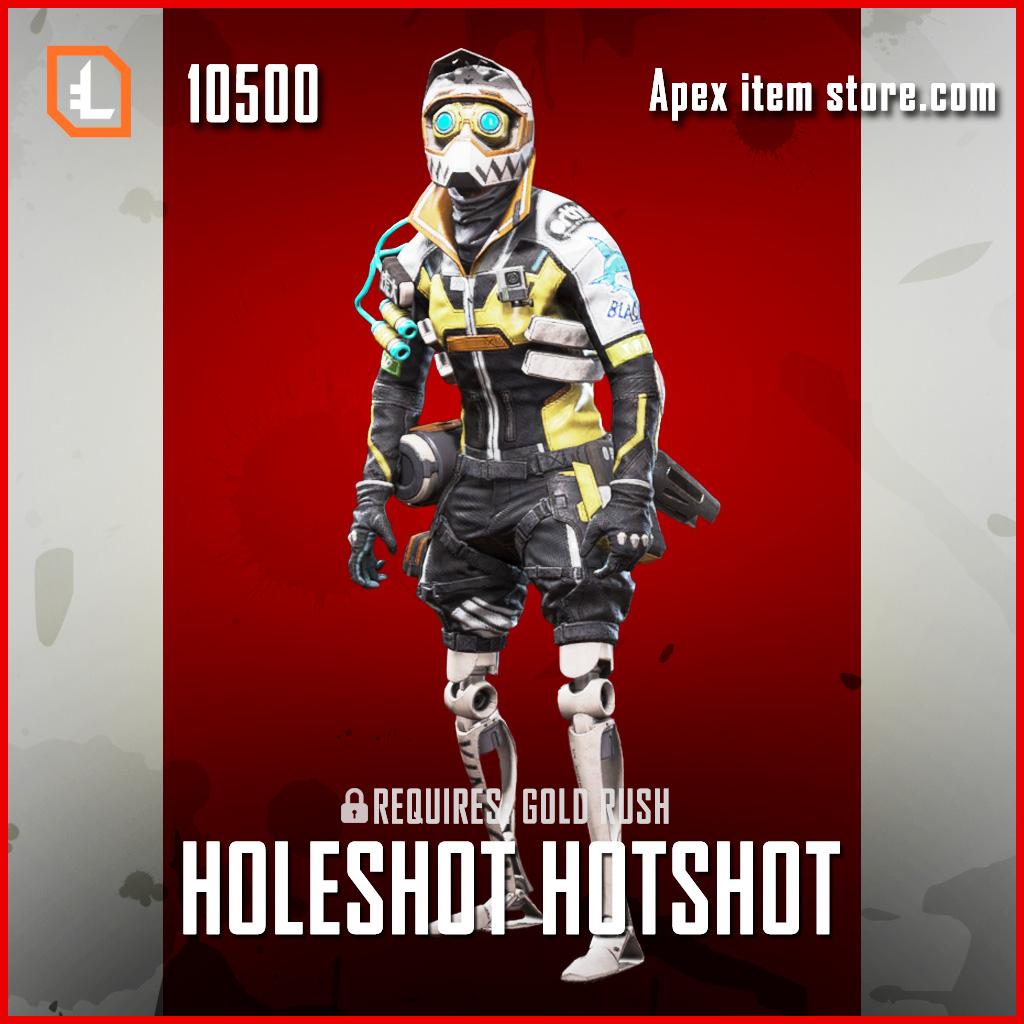Holeshot Hotshot exclusive octane legendary apex legends skin