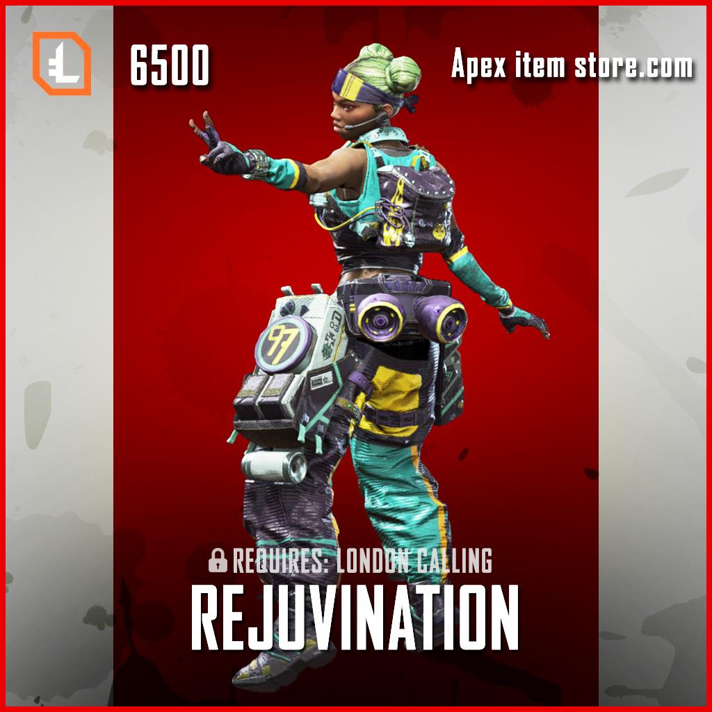 Rejuvination lifeline exclusive legendary skin apex legends