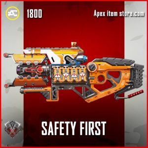 Safety First Charge rifle legendary apex legends skin