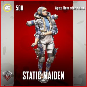 Static Maiden wattson rare apex legends skin