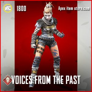 Voices from the past wraith legendary skin