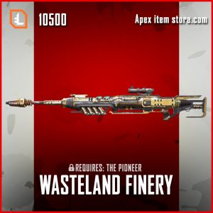 Wasteland Finery Kraber legendary exclusive apex legends skin