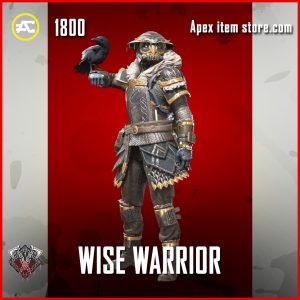 Wise Warrior bloodhound legendary apex legends skin