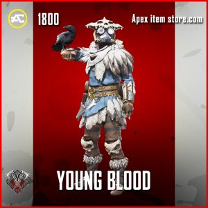 Young Blood bloodhound legendary apex legends skin