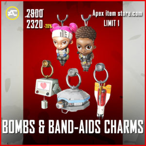 Bombs & Band-Aids Charms Bundle apex legends