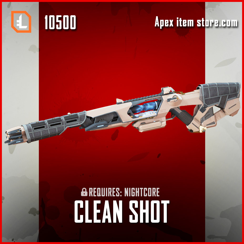 Clean Shot exclusive sentinel legendary apex legends skin