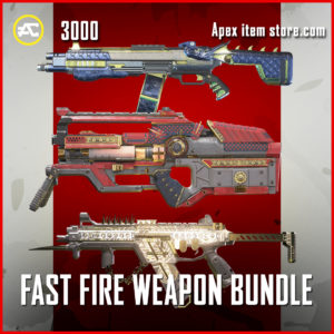 Fast Fire weapon Bundle skins apex legends
