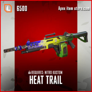 Heat Trail nitro kustom exclusive devotion apex legends skin