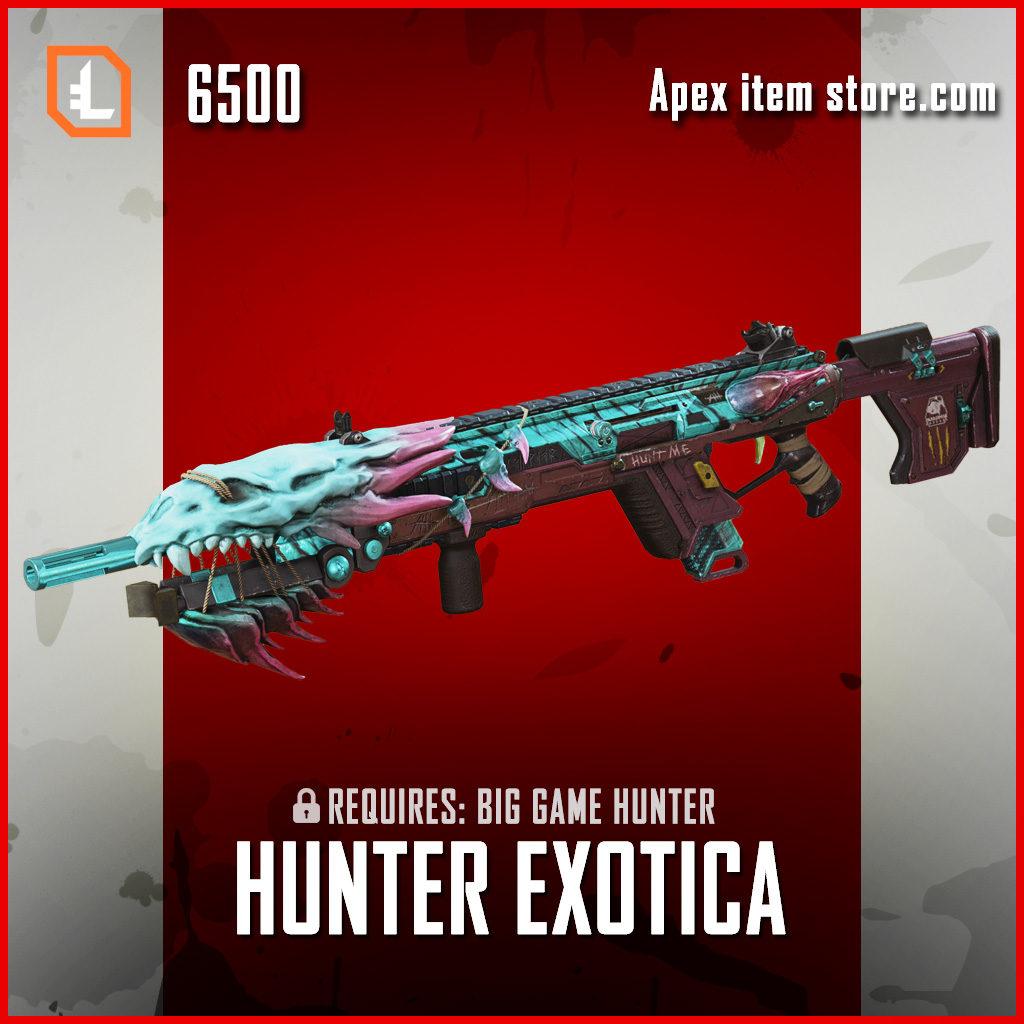 Hunter Exotica Longbow exclusive apex legends skin