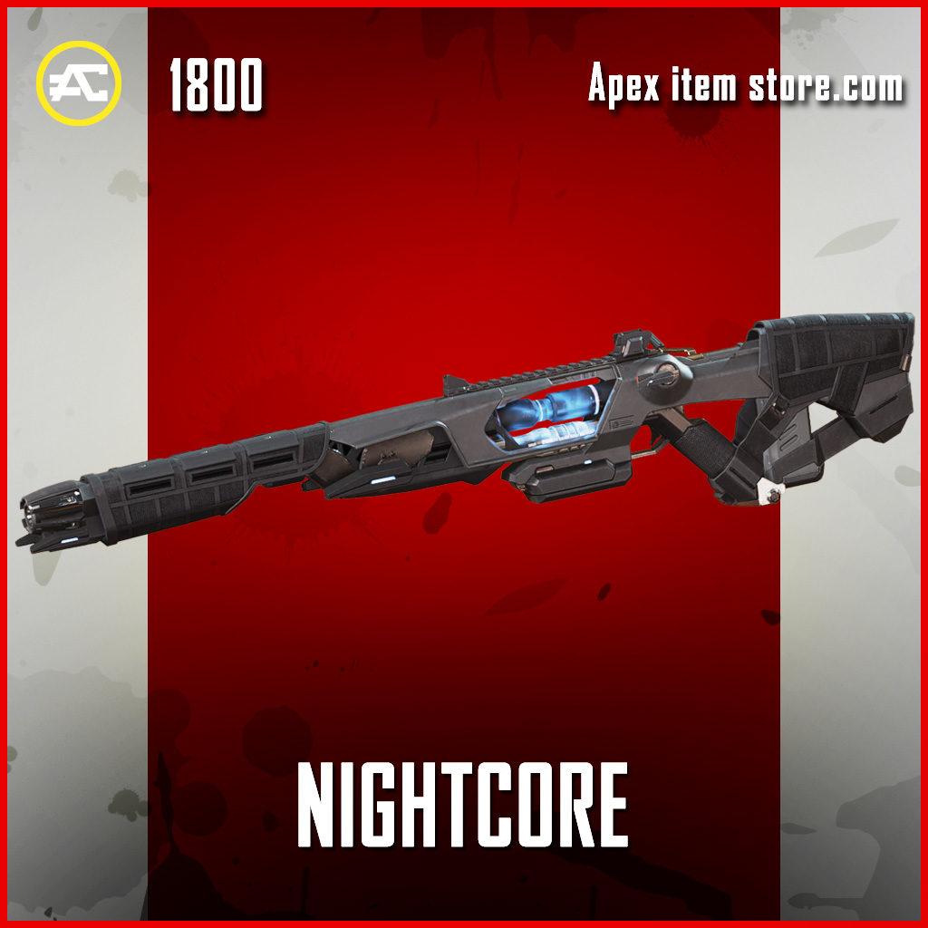 Nightcore sentinel legendary apex legends skin