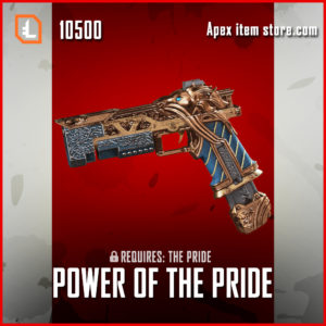 Power of the pride re-45 exclusive apex legends skin