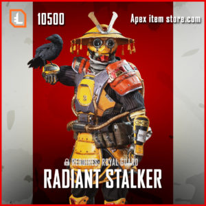 Radiant Stalker bloodhound exclusive legendary apex legends skin