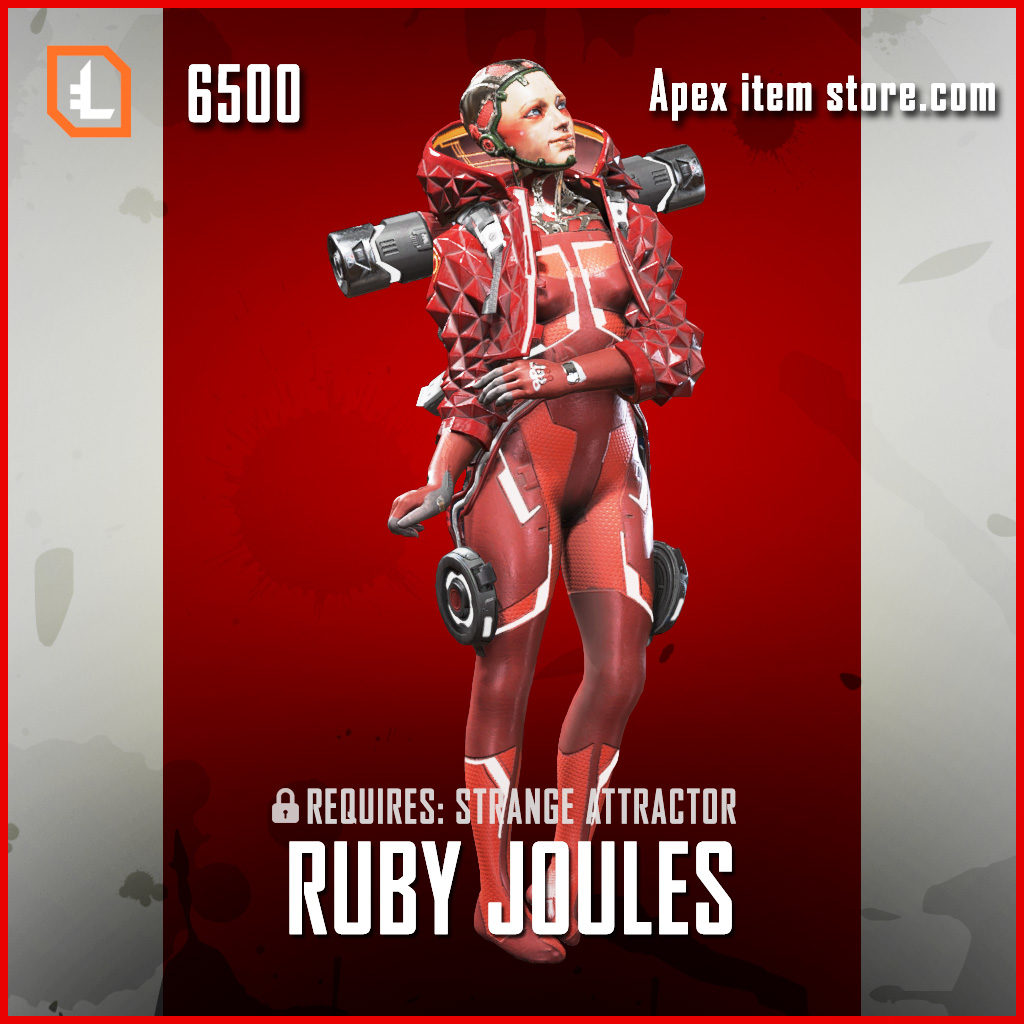 Ruby Joules wattson exclusive legendary apex legends skin