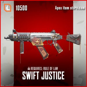 Swift Justice R-99 legendary exclusive apex legends skin