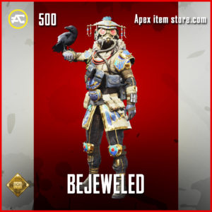 Bejeweled bloodhound skin rare apex legends item
